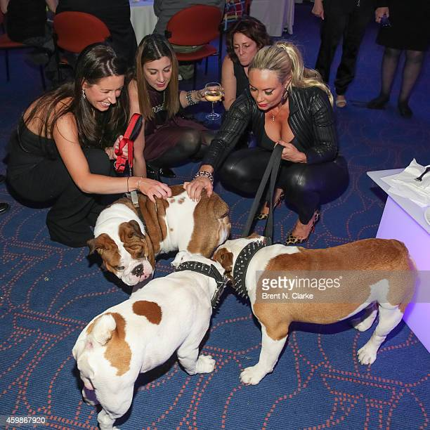 Actress and model Coco Austin and friends attend the 15th Anniversary Bash for the Bulldogs Fundraising Celebration at Rosenthal Pavilion on December...
