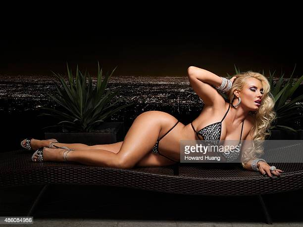 Actress and model Coco wife of IceT is photographed for Self Assignment on November 9 2010 in New York City