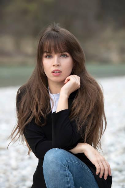DEU: Darya Gritsyuk Portrait Shooting In Munich