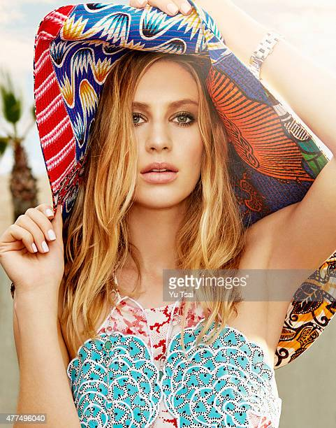 Actress and model Dylan Penn is photographed for Tatler Magazine Russia on January 10 2015 in Los Angeles California Published Image