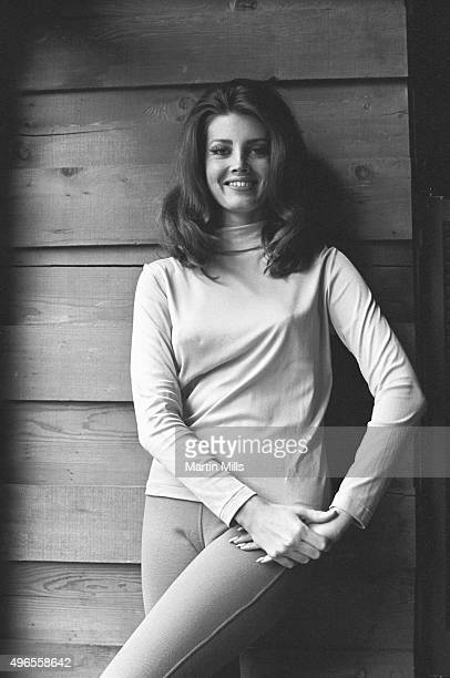Actress and model Gayle Hunnicutt poses for a photo circa 1968 in Los Angeles California