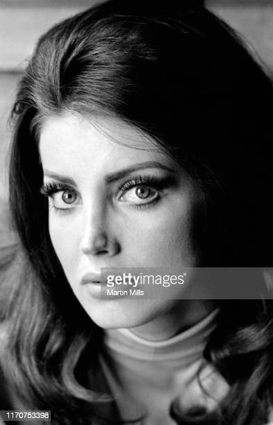 Actress and model Gayle Hunnicutt poses for a portrait circa 1968 in Los Angeles California