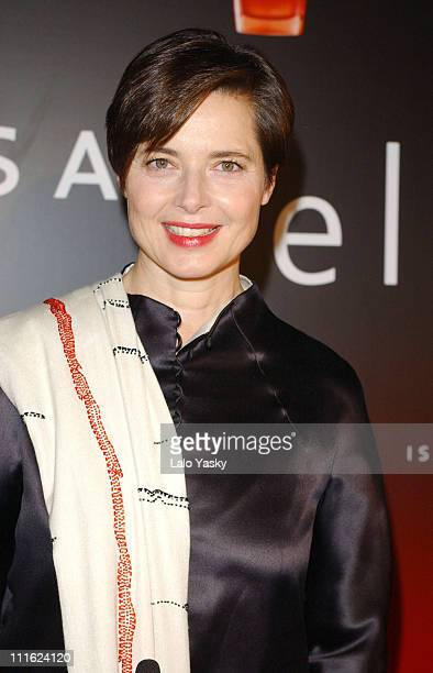 Actress and model Isabella Rossellini during Actress and Model Isabella Rossellini Presents Her New Fragrance Isabella by Coty at Fernan Nunez Palace...