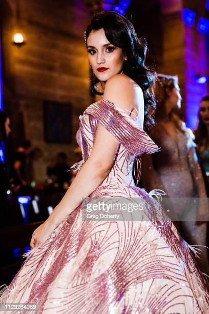 Actress and model Jacqueline Del Valle attends Sanctuary Fashion Week on March 7 2019 in Los Angeles California