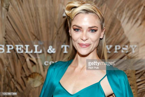 Actress and model Jamie King attends Spell & The Gypsy Collective Pop-Up Opening Party on October 23, 2018 in Venice, California.