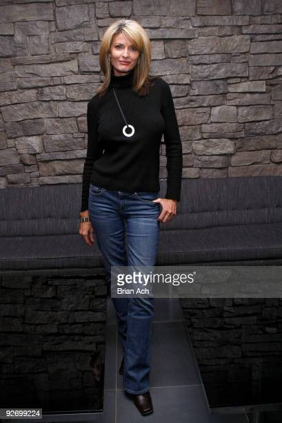 Actress and model Joan Severance attends the Models From The 80's Reunion at Bongo on November 3 2009 in New York City