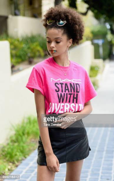 Actress and model Ke'Andra Samone attends the LA Pride Music Festival And Parade 2017 on June 11 2017 in West Hollywood California