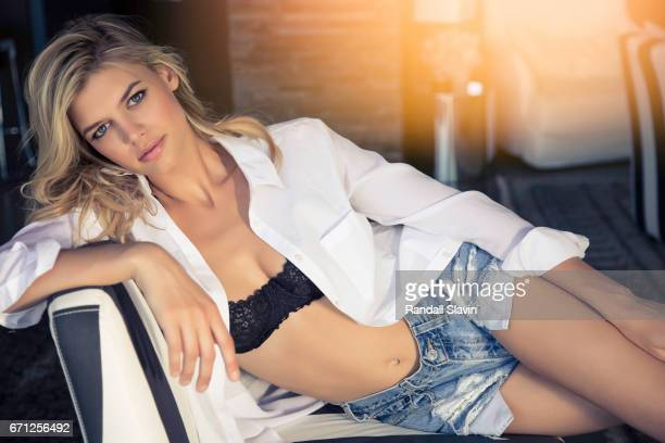 Actress and model Kelly Rohrbach is photographed for Self Assignment on March 6 2015 in Hollywood California