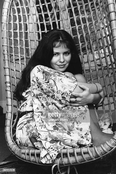 Actress and model Koo Stark one time close friend of Prince Andrew Original Publication People Disc HM0029