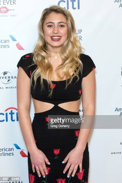 Actress and Model Lia Marie Johnson attends the Universal Music Group's 2017 GRAMMY After Party at The Theatre at Ace Hotel on February 12 2017 in...