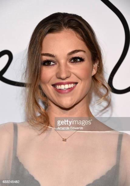 Actress and model Lili Simmons arrives at the Tyler Ellis 5th Anniversary party and launch of the Tyler Ellis x Petra Flannery Collection at Chateau...