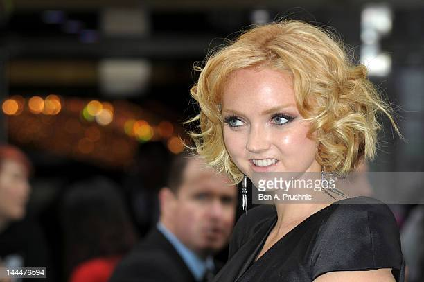 Actress and model Lily Cole attends the World Premiere of 'Snow White And The Huntsman' at The Empire and Odeon Leicester Square on May 14 2012 in...