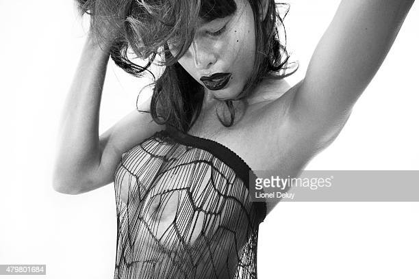 Actress and model Paz de la Huerta is photographed for Self Assignment on February 6 2011 in Los Angeles California