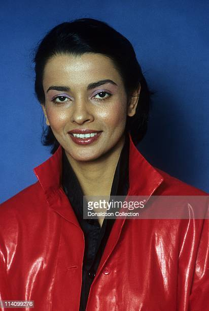 Actress and Model Persis Khambatta poses for a portrait in c1985 in Los Angeles California