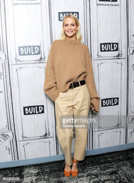 Actress and model Poppy Delevingne attends Build Series to discuss 'Genius Picasso' at Build Studio on May 3 2018 in New York City