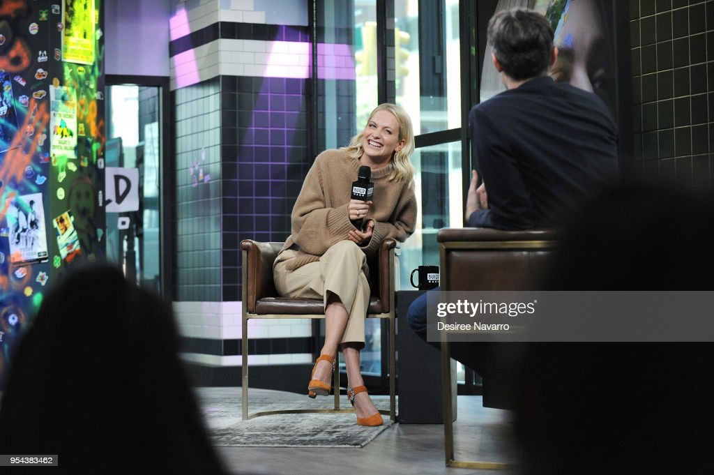 Actress and model Poppy Delevingne attends Build Series to discuss 'Genius: Picasso' at Build Studio on May 3, 2018 in New York City.