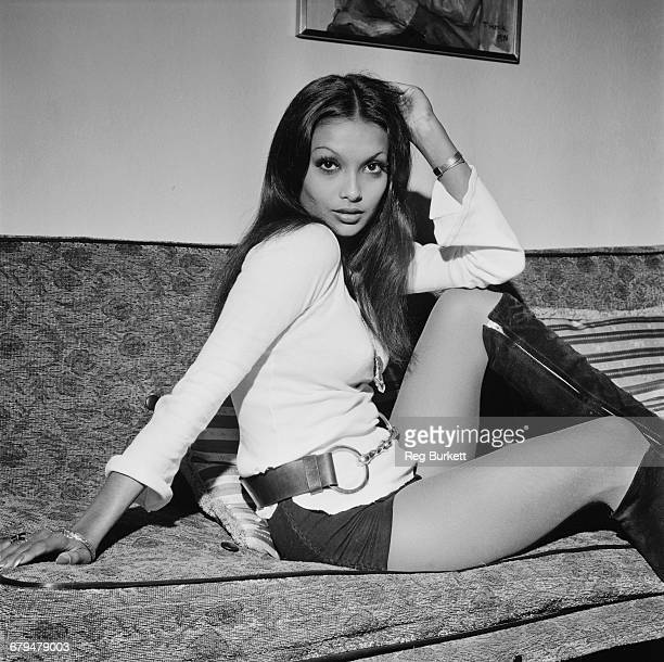 Actress and model Shakira Baksh who married actor Michael Caine in 1973 UK 10th December 1971