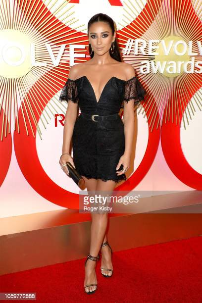 Actress and model Shay Mitchell attends Revolve's second annual #REVOLVEawards at Palms Casino Resort on November 9 2018 in Las Vegas Nevada
