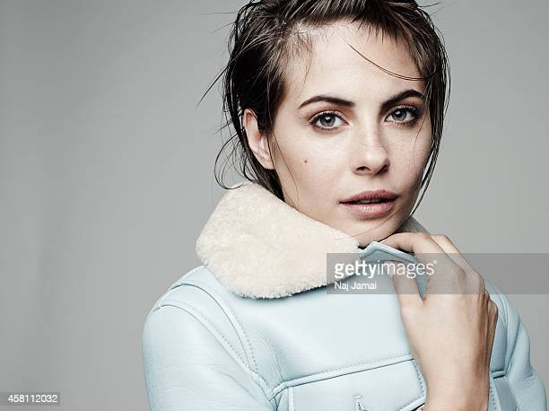 Actress and model Willa Holland is photographed for WhoWhatWearcom on October 8 2014 in Los Angeles California Coat PUBLISHED IMAGE