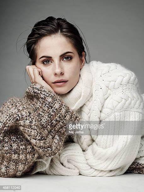 Actress and model Willa Holland is photographed for WhoWhatWearcom on October 8 2014 in Los Angeles California Sweater PUBLISHED IMAGE