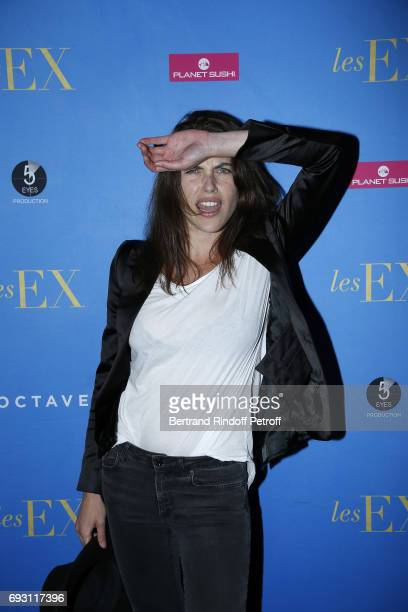 Actress and Model Zoe Duchesne attends 'les Ex' Paris Premiere at Cinema Gaumont Capucine on June 6 2017 in Paris France