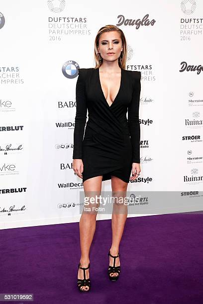 Actress and moderator Sophia Thomalla attends the Duftstars 2016 at Kraftwerk Mitte on May 12 2016 in Berlin Germany