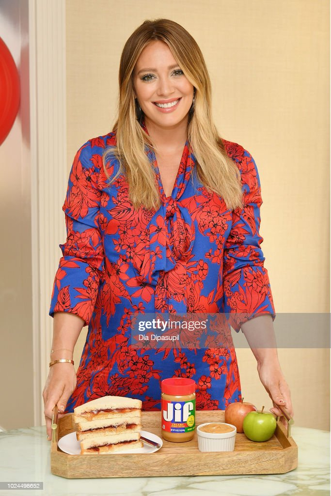 Hilary Duff Announces The 'Imagine If, With Jif' Contest Kick Off With Jif Peanut Butter : News Photo