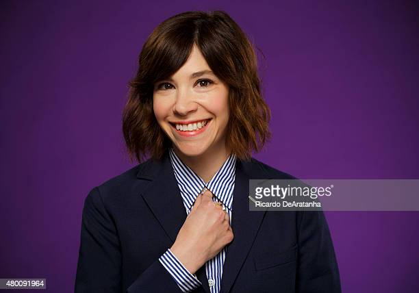 Actress and musician Carrie Brownstein is photographed for Los Angeles Times on June 10 2015 in Los Angeles California PUBLISHED IMAGE CREDIT MUST...