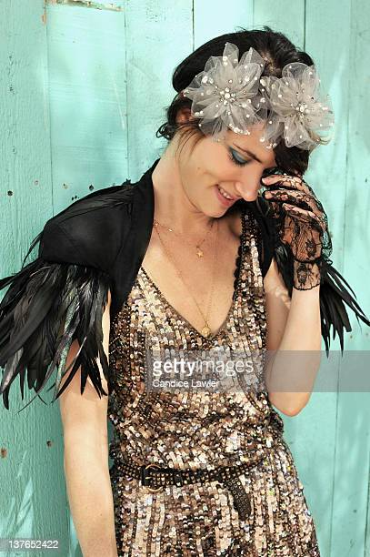 Actress And Musician Juliette Lewis Is Photographed For Billboard Magazine On March 25 2009 In Austin