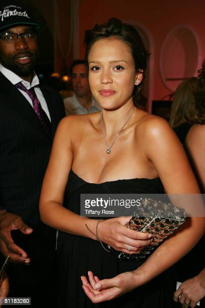 Actress and newlywed Jessica Alba attends the 2008 Celebration of Mentoring on May 20 2008 at the Beverly Hills Hotel in Beverly Hills California