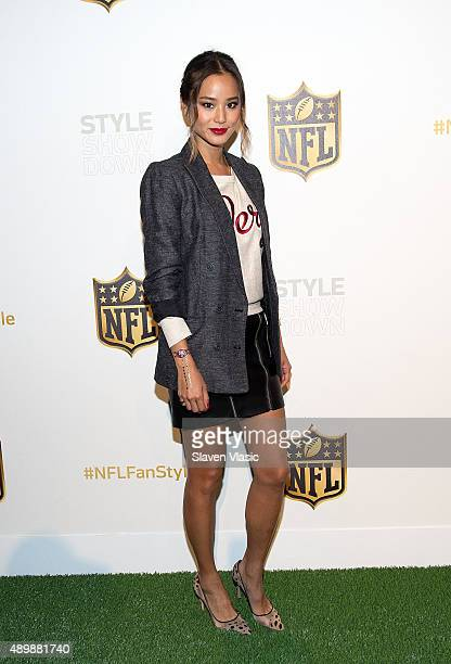 Actress and NFL ambassador Jamie Chung attends the NFL Women's Style Showdown on September 24 2015 in New York City