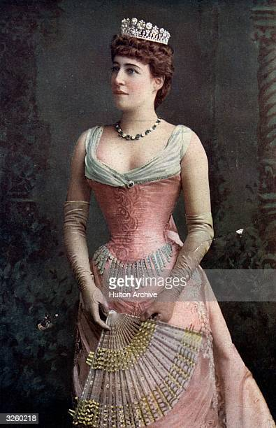 Actress and noted beauty Lillie Langtry The 'Jersey Lily' intimate friend of Edward VII