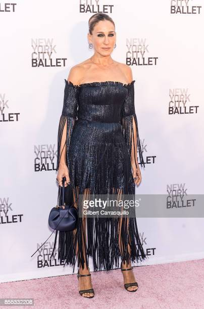 Actress and NYCB Board Vice Chair Sarah Jessica Parker attends the New York City Ballet's 2017 Fall Fashion Gala at David H Koch Theater at Lincoln...