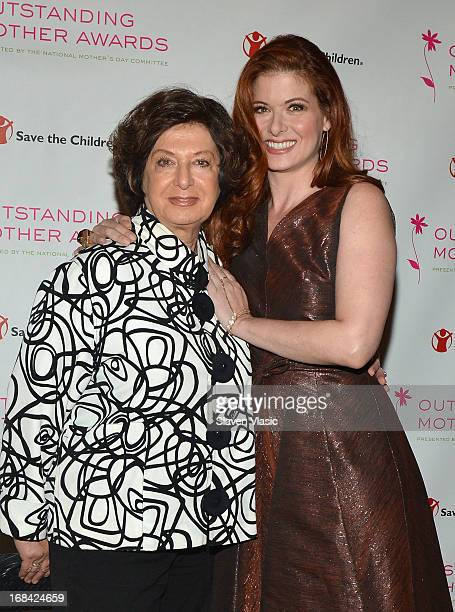 Actress and Outstanding Mother Award honoree Debra Messing with mother Sandy Messing attend the 2013 Outstanding Mother Awards at The Pierre Hotel on...