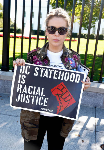 """DC: """"No More Excuses: Voting Rights Now"""" Rally Held In Front Of White House"""