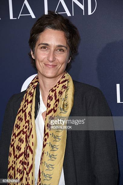 Actress and photographer Alexandra Hedison attends the premiere of Lionsgate's 'La La Land' in the Westwood area of Los Angeles California December 6...