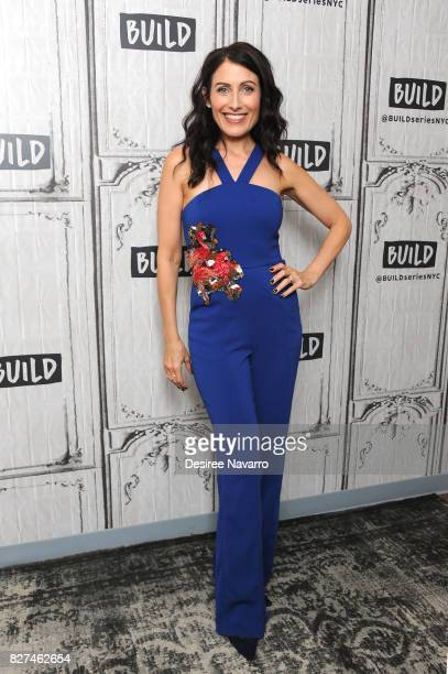 Actress and playwright Lisa Edelstein attends Build to discuss 'Girlfriends' Guide To Divorce' at Build Studio on August 7 2017 in New York City