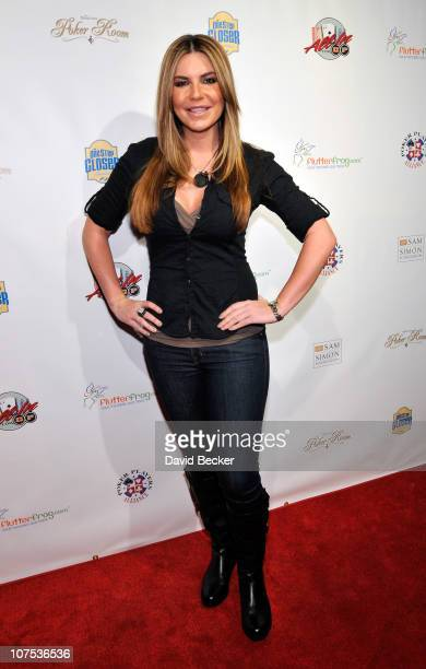 Actress and poker player Christina Lindley arrives at the All In For CP Celebrity Charity Poker Tournament at The Venetian Resort Hotel Casino on...
