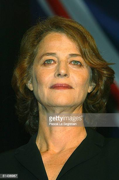 Actress and President of the Jury Charlotte Rampling attends the opening ceremony of the 15th Dinard Festival Of British Film October 7 2004 in...