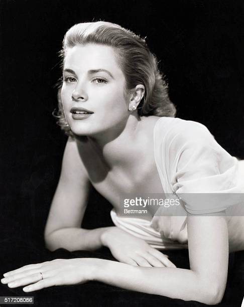 Actress and Princess Grace Kelly posing in this close up photo