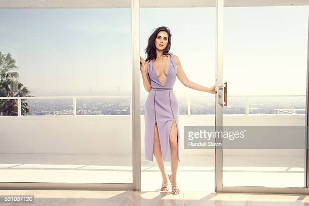 Actress and producer Alison Brie is photographed for Alexa on February 27 2016 in Hollywood California