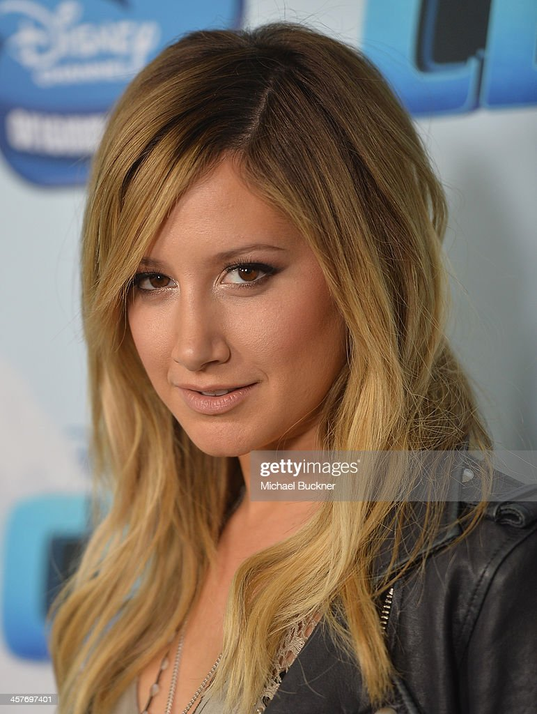 Actress and producer Ashley Tidsale arrives at the premiere of Disney Channel's 'Cloud 9' at the Disney Channel Theatre on December 18, 2013 in Burbank, California.