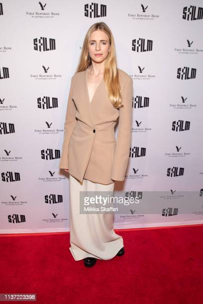 Actress and producer Brit Marling arrives at Special Preview of SFFILM's The OA Part II at Castro Theatre on March 20 2019 in San Francisco California