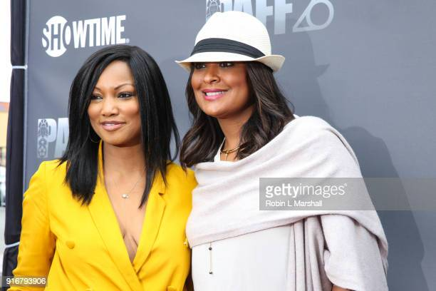 Actress and Producer Garcelle Beauvais and Professional Boxer Laila Ali attend 'Lalo's House' Red Carpet Screening at Cinemark Baldwin Hills Crenshaw...
