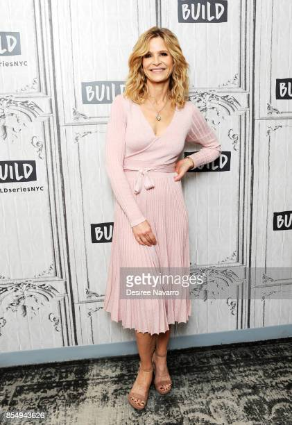Actress and producer Kyra Sedgwick attends Build to discuss 'Ten Days in the Valley' at Build Studio on September 27 2017 in New York City