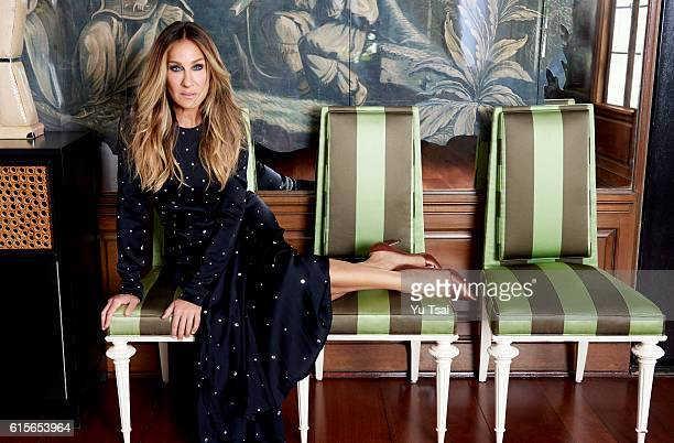 Actress and producer Sarah Jessica Parker is photographed for Rhapsody Magazine on July 30 2016 in Los Angeles California PUBLISHED IMAGE