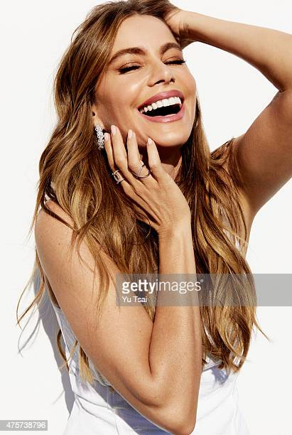 Actress and producer Sofia Vergara is photographed for Redbook Magazine on March 5 2015 in Los Angeles California PUBLISHED IMAGE