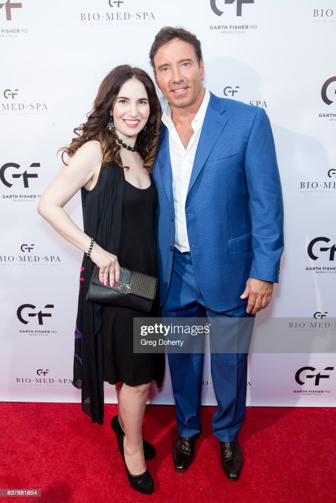 Actress and Producer Vida Ghaffari and Dr. Garth Fisher attend the Official Launch Party Of Dr. Garth Fisher's BioMed Spa at Garth Fisher MD on August 22, 2017 in Beverly Hills, California.