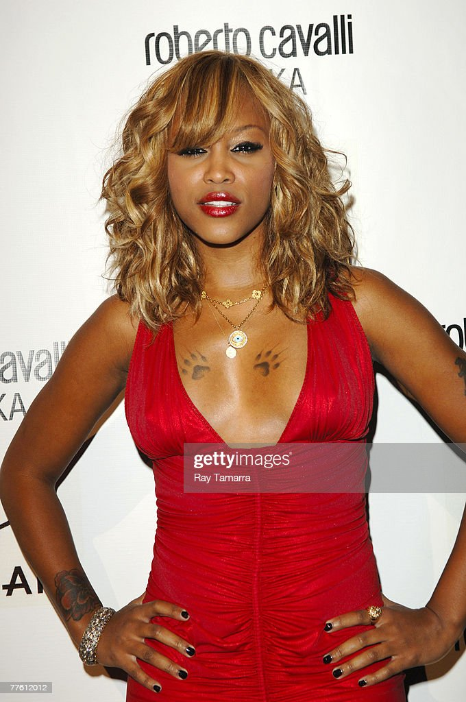 actress and recording artist eve attends the roberto cavalli vodka and giuseppe cipriani halloween party at