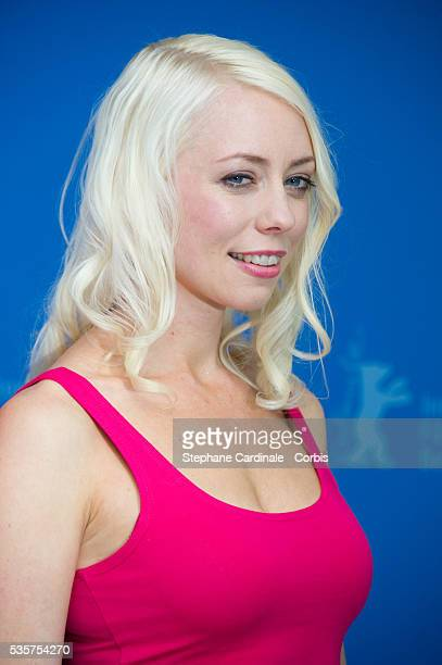Actress and scriptwriter Lorelei Lee attend the Cherry Photocall during the 62nd Berlin International Film Festival in Berlin